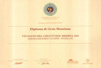 Marini-Farm-diploma-granmenzione 2014